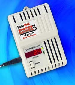 Safety Siren Pro3 Series Radon Detector Canadian Model