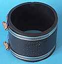 "PIPCONX 4"" to 4"" coupling"