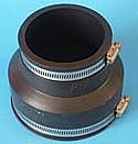 "PIPCONX 4"" to 3"" coupling"