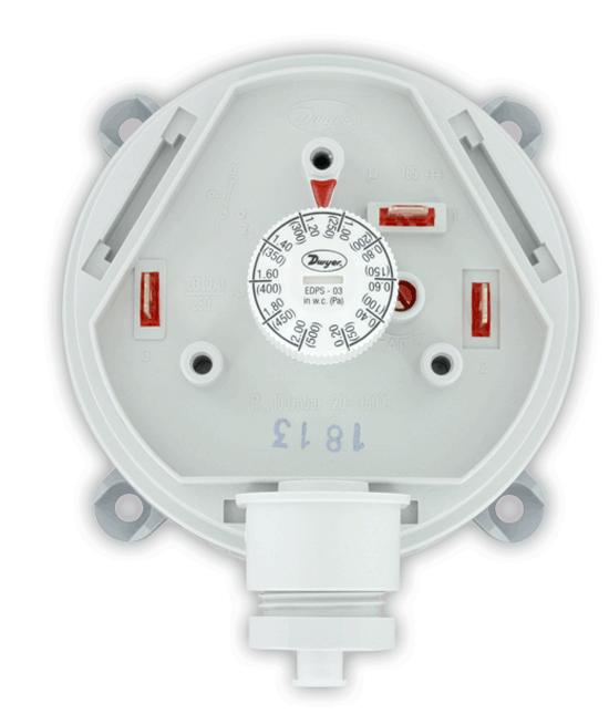 Dwyer adjustable vacuum/pressure switch