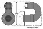 Dranjer J-S15 sump drain