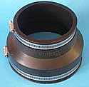 "PIPCONX 6"" to 4"" coupling"
