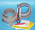 Radon fan Installation kit 5 X 4